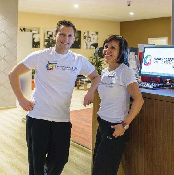 Jan und Silvie aus dem Projekt Gesundheit Werder