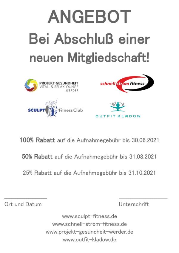 Aktion September Projekt Gesundheit Werder